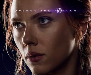 black widow, Marvel, and Avengers image