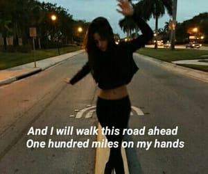 ahead, lyric, and Lyrics image
