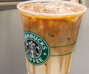 starbucks, love, and caramel image
