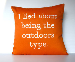 lie, orange, and outdoors image