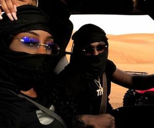 black, Dubai, and couples image