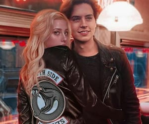 riverdale, cole sprouse, and couple image