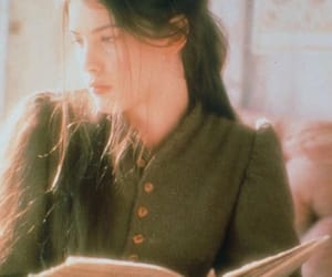 girl, book, and liv tyler image