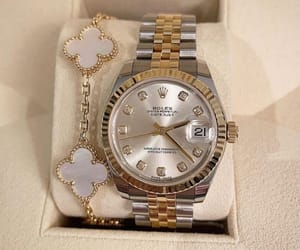 jewellery, rolex, and watch image
