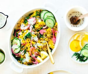 food, recipes, and rice image