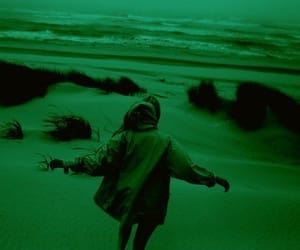 aesthetic, green, and ocean image