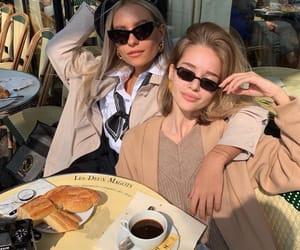 food, france, and girls image