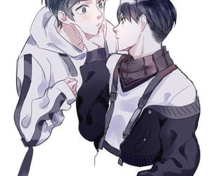 eren yeager and levi ackerman image