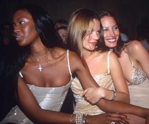 90s, kate moss, and Naomi Campbell image