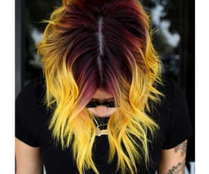 beautiful, colored hair, and color image