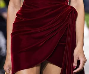 burgundy, catwalk, and elegance image