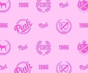 pink, victoria secret, and wallpapers image