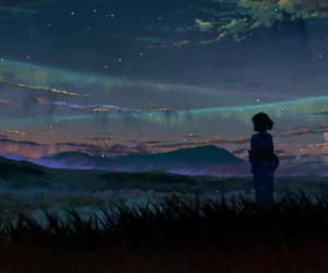 anime, kimi no na wa, and anime girl image