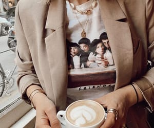 beige, coffee, and hipster image