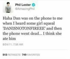 phil lester, youtuber, and daniel howell image