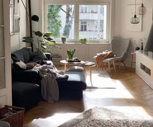 apartment, design, and living room image