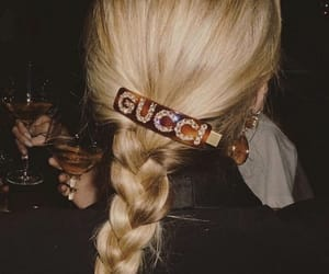 gucci, fashion, and hair image