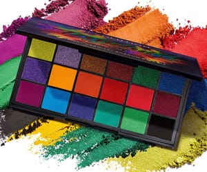 bright, colour, and eyeshadow image