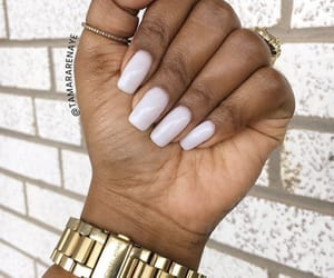 nails, styles, and woman image