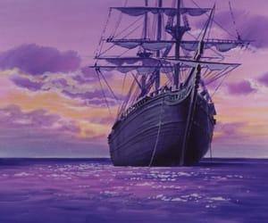 anime, purple, and retro image