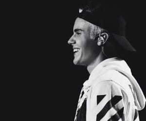black and white, smile, and JB image