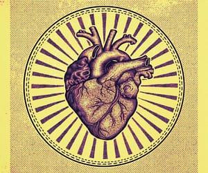 art, artwork, and heart image