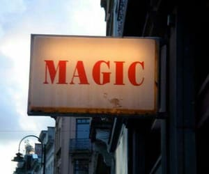 magic, sign, and words image