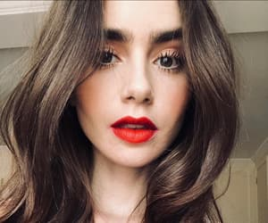 lily collins, beauty, and girl image