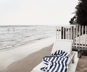 beach, ocean, and place image