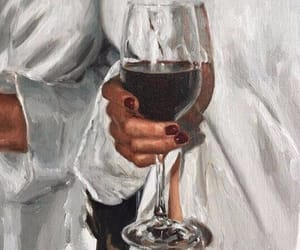 art and wine image