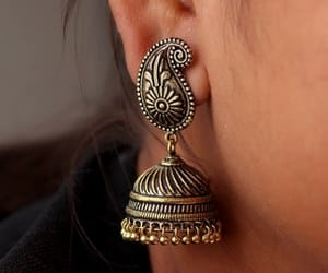 jhumka, jhumkas, and jhumkas designs image