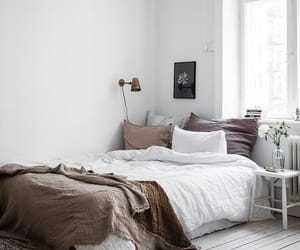 bed, design, and home image