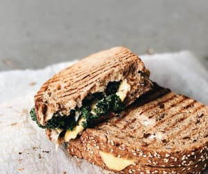 sandwich grilled cheese and spinach feta healthy image