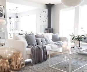 cozy, decor, and white image