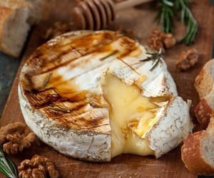 cheese, food, and brie image