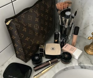 chanel, makeup, and Louis Vuitton image