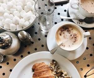 chic, coffee, and food image