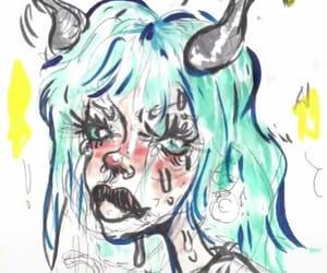 art, I Love You, and billie eilish image