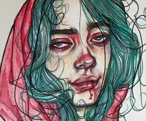 billie eilish, my strange addiction, and dont smile at me image