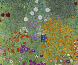 art, flowers, and klimt image