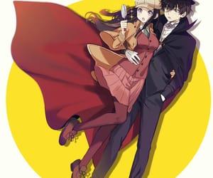 anime, anime couple, and chitanda eru image