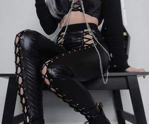 black and chains image