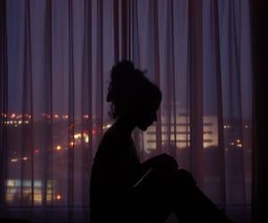 girl, night, and aesthetic image