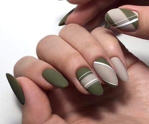 fashion, long nails, and nail polish image