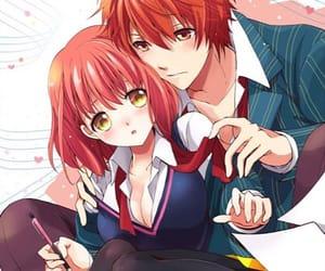 anime, haruka, and otoya image