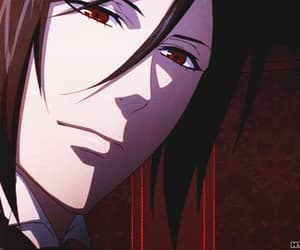 black butler, eyes, and gif image