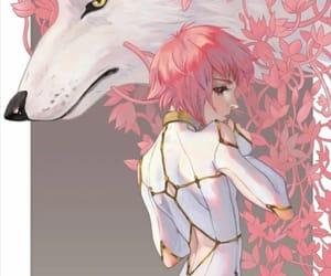 anime, manga, and wolf rain image