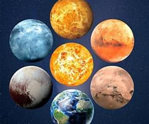 gift, planet, and gifts image