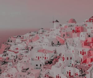 aesthetic, building, and pink image