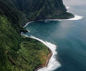 cliffs, hawaii, and islands image